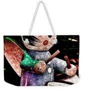 Little Drummer Girl Weekender Tote Bag