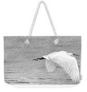 Little Egret Weekender Tote Bag