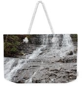 Little Falls Two  Weekender Tote Bag