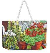 Little Flower Pot Garden Weekender Tote Bag