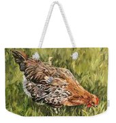 Little French Hen Weekender Tote Bag