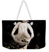 Little Girl With A Bird Weekender Tote Bag