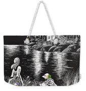 Little Girls Weekender Tote Bag by Svetlana Sewell
