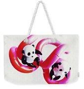 Little Glass Pandas 44 Weekender Tote Bag