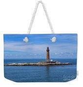 Little Gull Lighthouse Weekender Tote Bag