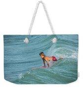 Little Guy Big Wave Weekender Tote Bag