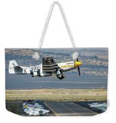 P51 Mustang Little Horse Gear Coming Up Friday At Reno Air Races 5x7 Aspect Weekender Tote Bag