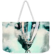 Little Hot Air Balloon Pendant And Clouds Weekender Tote Bag