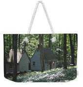Little House In The Woods Weekender Tote Bag