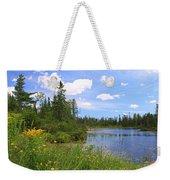 Little Iron Lake Weekender Tote Bag