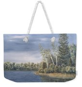 Little Lake In The Woods  Weekender Tote Bag