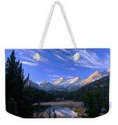 Little Lakes Valley Panorama Weekender Tote Bag