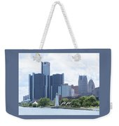 Little Lighthouse In The City Weekender Tote Bag
