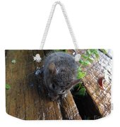 Little 'mighty Mouse' Weekender Tote Bag