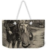 Little Nell And Her Grandfather  Weekender Tote Bag