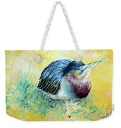 Little Night Heron Weekender Tote Bag