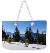Little Pine Forest - Impressions Of Mountains Weekender Tote Bag