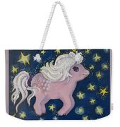 Little Pink Horse Weekender Tote Bag