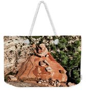 Little Pyramid Weekender Tote Bag