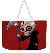 Little Reaper Weekender Tote Bag by John Schwegel