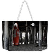 Little Red Boat Weekender Tote Bag