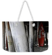 Little Red Boat II Weekender Tote Bag
