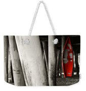 Little Red Boat II Re-edit Weekender Tote Bag