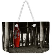 Little Red Boat IIi Weekender Tote Bag