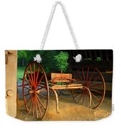 Little Red Buggy Weekender Tote Bag