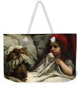 Little Red Riding Hood Weekender Tote Bag by Gustave Dore
