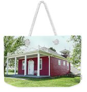 Little Red Schoolhouse, Council Grove Weekender Tote Bag