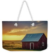 Little Red Shed Weekender Tote Bag