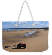 Little Red Tractor Weekender Tote Bag
