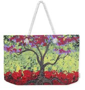 Little Red Tree Weekender Tote Bag