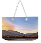 Little River In The Fall 2 Weekender Tote Bag