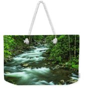 Little River Tremont Area Of Smoky Mountains National Park Weekender Tote Bag