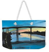 Little River Waterfront Weekender Tote Bag