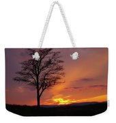 Little Round Top Sunset Weekender Tote Bag