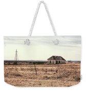 Little Shack On The Prairie Weekender Tote Bag