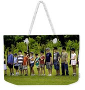 Little Soldiers Weekender Tote Bag