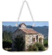 Little Stone Chapel In Vineyards Of Napa Valley Weekender Tote Bag