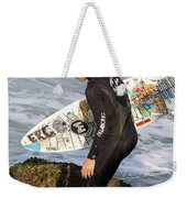 Little Surfer Dude Weekender Tote Bag