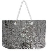 Little Tree Big Snow Weekender Tote Bag