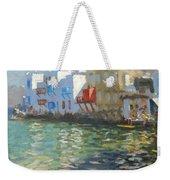 Little Venice Mykonos Weekender Tote Bag