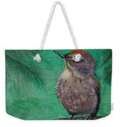 Little Warbler Weekender Tote Bag