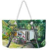 Little West Indian House 2...sold Weekender Tote Bag