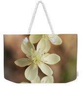 Little White Wildflowers  Weekender Tote Bag