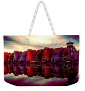 Live And Reflect Weekender Tote Bag