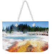 Live Dream Own Yellowstone Park Black Pool Text Weekender Tote Bag
