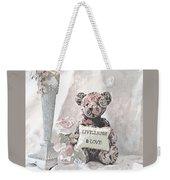Live, Laugh And Love Bear Weekender Tote Bag